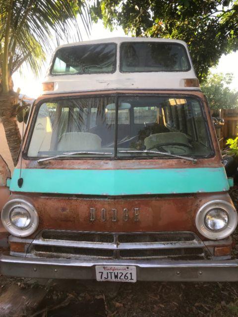 Dodge Conversion Van >> 1969 Dodge A108 Camper Van Corey Cruiser Hightop