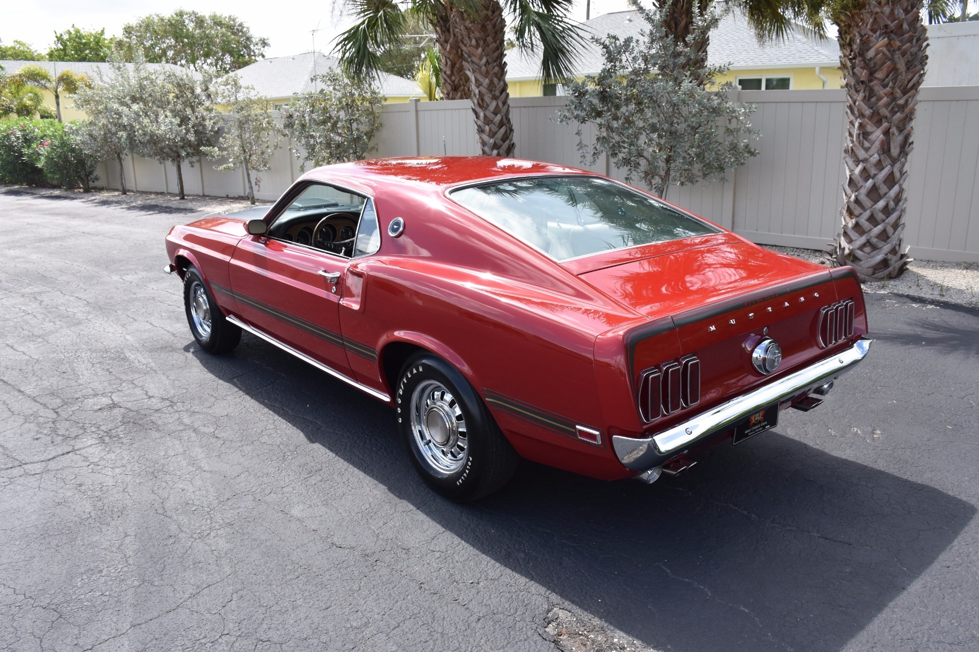 1969 Ford Mustang Mach 1 428 Cobra Jet 0 Candy Apple Red Coupe Shaker Scoop 428ci J