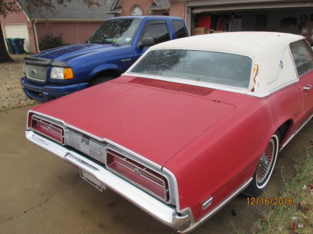 1969 Ford Thunderbird 429 With Oem Power Sun Roof One Of