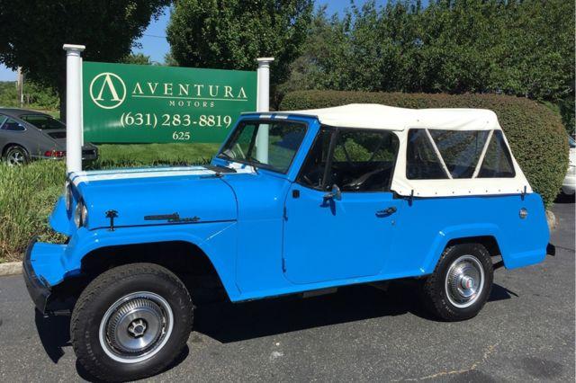 1969 Jeep Comando 77185 Miles Blue SUV / Convertible 6