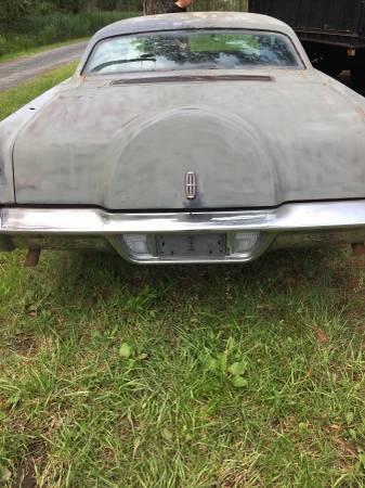 1969 Lincoln Continental Mark Iii 2 Door Runs Good Classic 1969