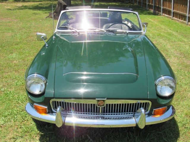 1969 MGC ROADSTER. 4 SPEED. OVERDRIVE. WIRE WHEELS. NICE DRIVER ...
