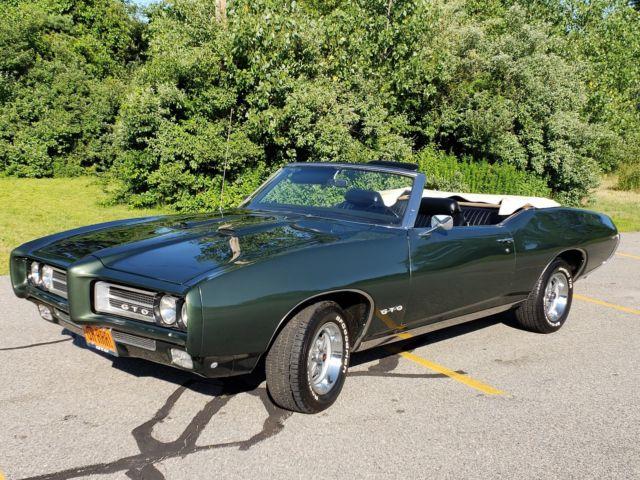 1969 PONTIAC GTO CONVERTIBLE  REAL DEAL 242 GTO VIN  400/ 4