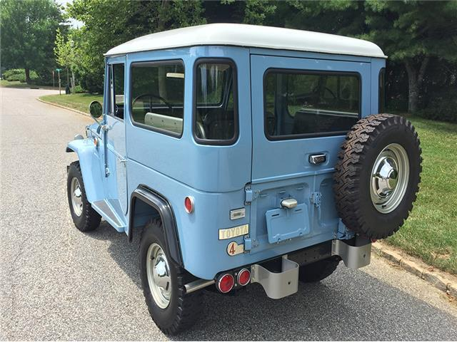 PrevNext & 1969 Toyota FJ40 Land Cruiser 12602 Miles Blue 2 door 6 Cylinder ...