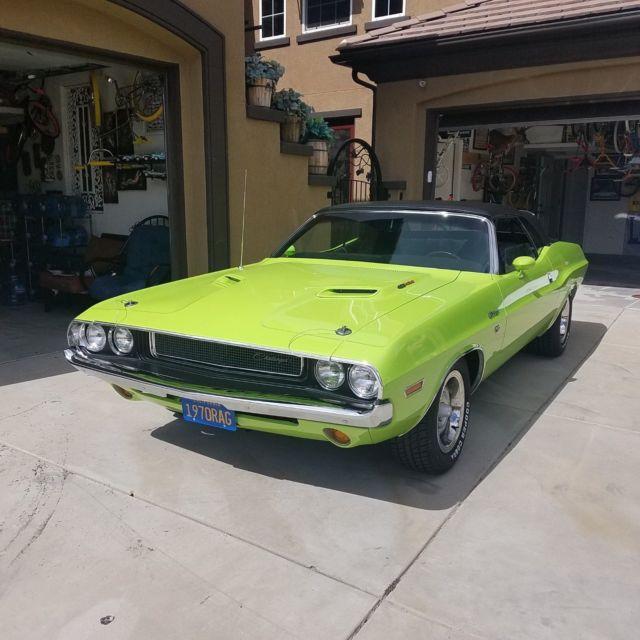 1970 challenger rt convertible 426 hemi engine classic