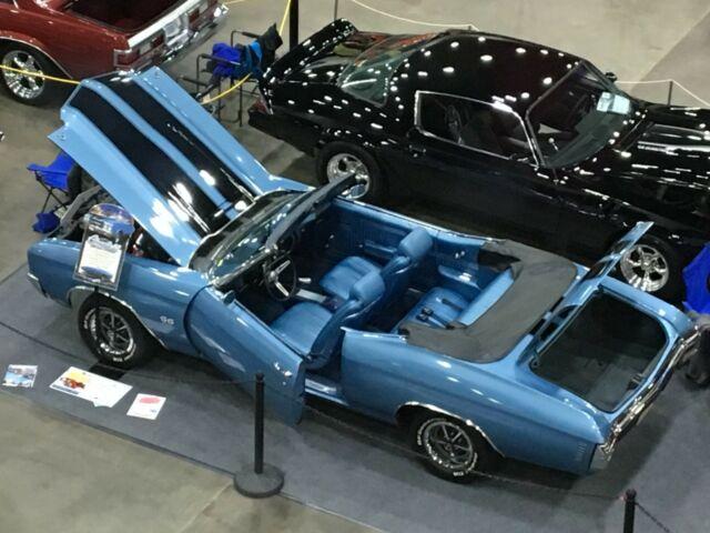 1970 Chevelle SS 396 Convertible, Muncie 4 speed, posi