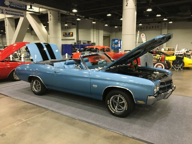 1970 Chevelle SS 396 Convertible, Muncie 4 speed, posi traction