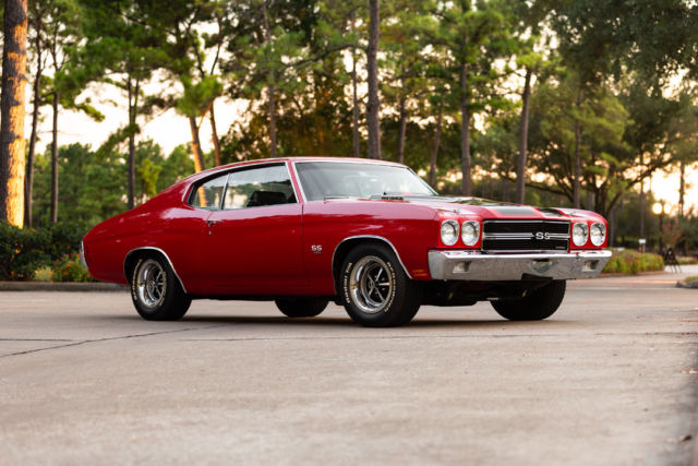 1970 Chevrolet Chevelle SS LS6 454 / 450 HP 4 Speed with 2