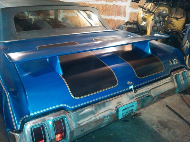 1970 Oldsmobile Cutlass 442 convertible - Classic 1970