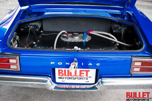 1970 Pontiac TransAm, Beautiful Blue Paint, Magazine Cover Car