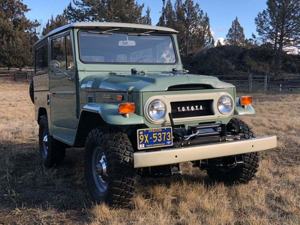 1970 toyota fj40 land cruiser classic 1970 toyota land cruiser for sale. Black Bedroom Furniture Sets. Home Design Ideas