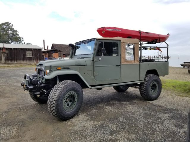 1970 toyota land cruiser fj45 pickup resto rod ls power auto transmission classic 1970 toyota. Black Bedroom Furniture Sets. Home Design Ideas