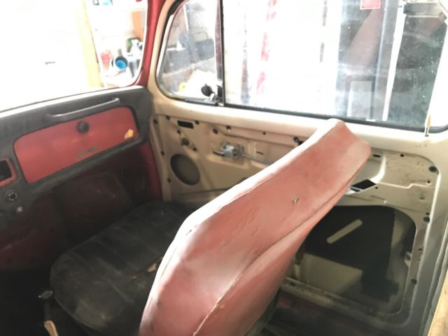 1970 VW Beetle Truck full of classic parts all original