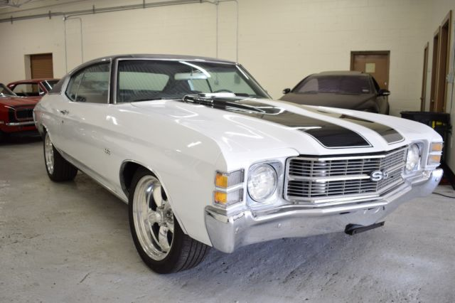 1971 Chevrolet Chevelle SS Clone S Matching 350 Cold AC SS Wheels