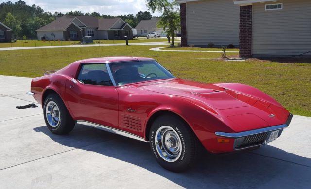 1971 LT1 Corvette 350/330HP Numbers matching motor/tranny
