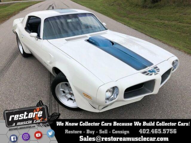1971 Pontiac Trans Am 10016 Miles Cameo White Coupe 455 HO V8 4