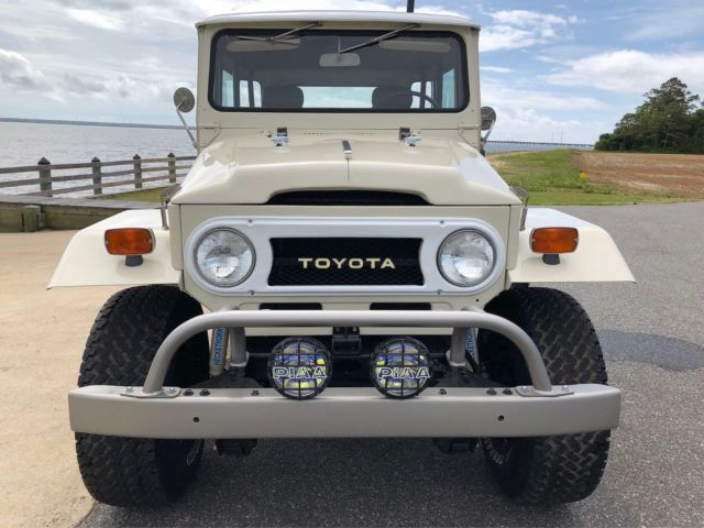 1971 Toyota Land Cruiser FJ40 Frame Off Restoration BEAUTIFUL