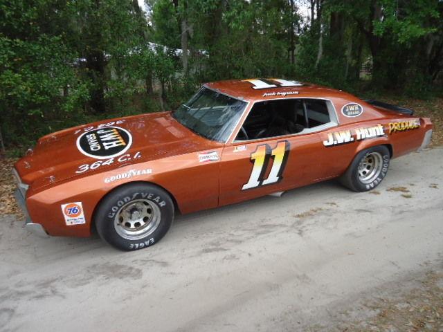 1972 3 TIME WINNER ACTUAL/RESTORED JACK INGRAM'S RACE CAR - Classic