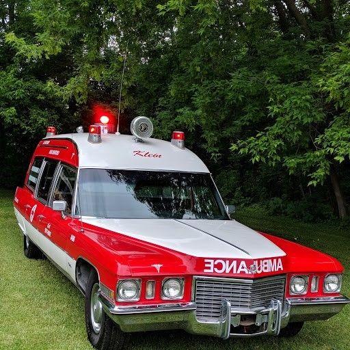 Classic 1972 Cadillac Ambulance