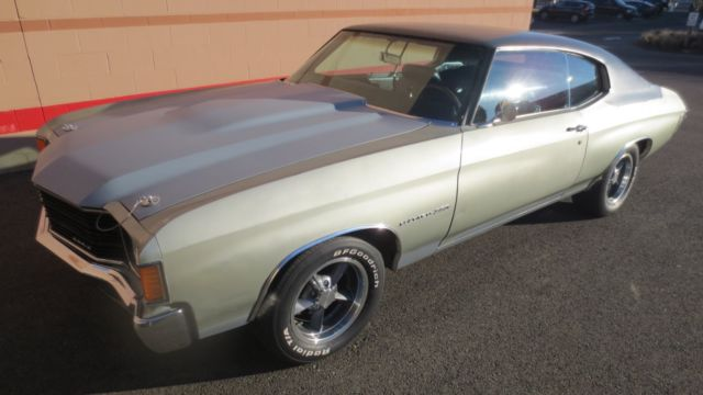 1972 Chevelle Malibu Classic Muscle Car Vintage Rare Hot Rod Old