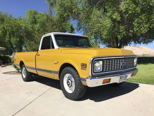 1972 chevy super cheyenne 402