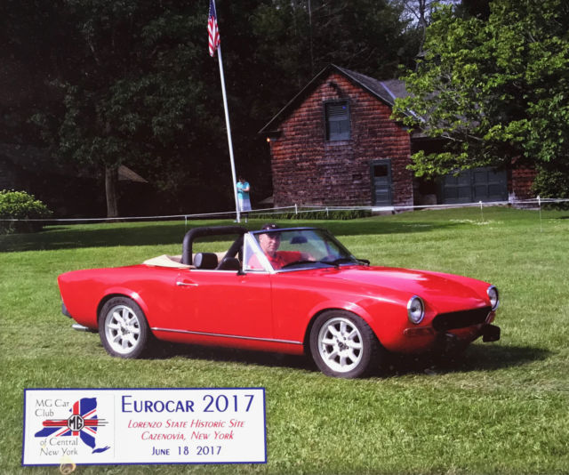 Fiat 124 Spider Convertible: Classic 1972 Fiat 124 Spider For Sale