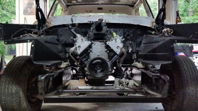 1972 Ford F100 Frame Off Restoration LS Swap / Crown Vic suspension