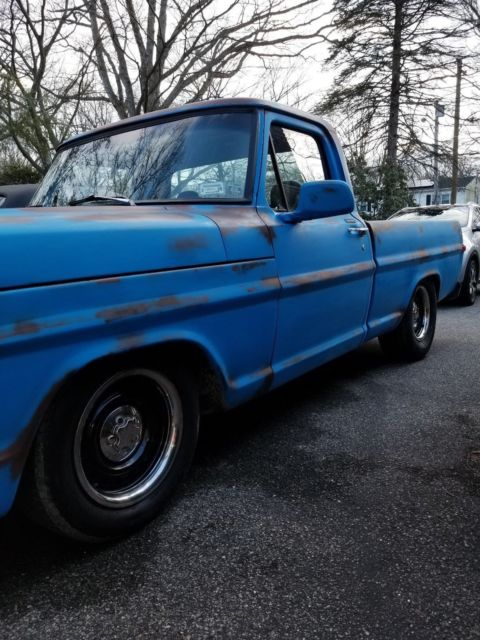 1972 ford F100 on full crown vic swap - Classic 1972 Ford F