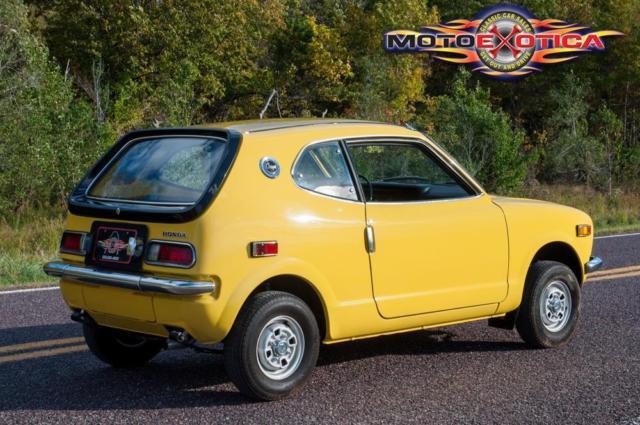 1972 Honda Z600 Coupe - Classic 1972 Honda Z600 Coupe