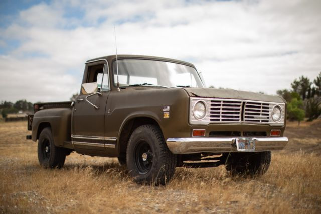 1972 International Harvester Step Side Truck - Classic 1972