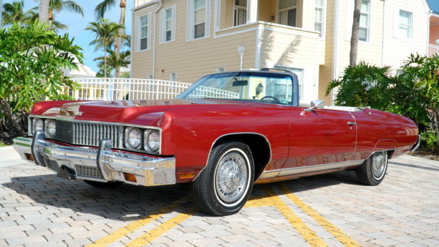 1973 CHEVY CAPRICE CONVERTIBLE 400 V8 6 6L ENGINE HARD TO
