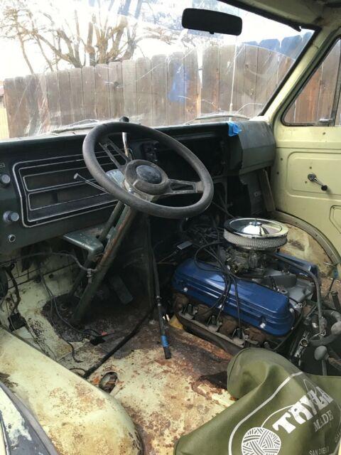 1973 ford econoline shorty quadravan 4x4 project HTF ...