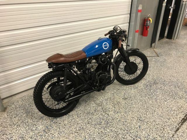 1973 honda CL350 cafe racer by MOTO PGH cb350 cb 350 360 450 custom motorcycle. PrevNext