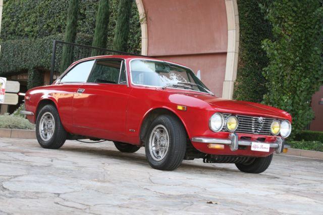 1974 Alfa Romeo Gtv Veloce 2 0l Engine Red