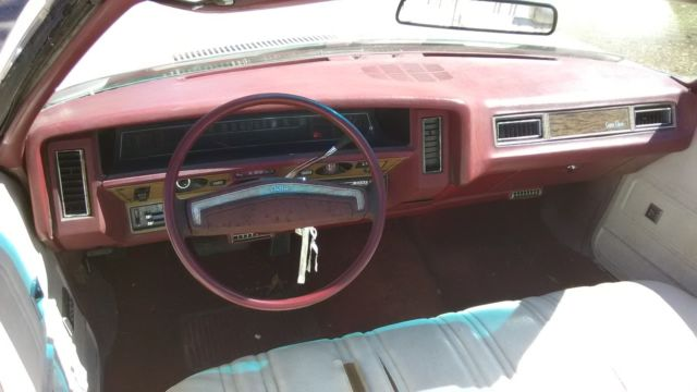1975 CHEVROLET CAPRICE CLASSIC CONVERTIBLE FOR SALE