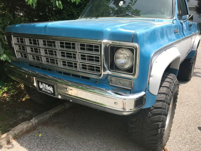 1975 Chevrolet K10 Silverado Short Wheelbase 4WD 350 V8 Runs and