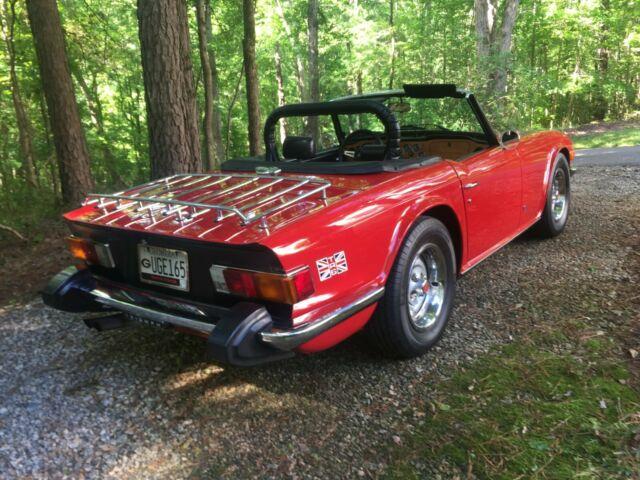 1975 Triumph TR6 Rust Free Pampered Survivor Wonderful Road