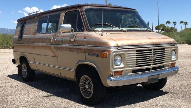 1976 Chevy G20 Vintage Venture Conversion Van All Original