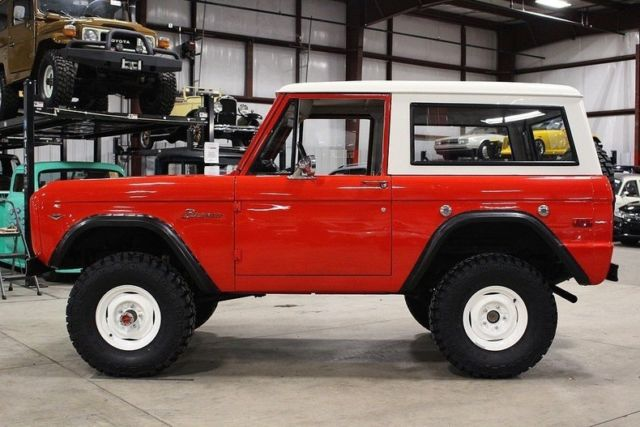 1976 ford bronco 18872 miles red suv 302 v8 manual classic 1976 rh mfpclassiccars com 1977 Ford Bronco 1979 Ford Bronco