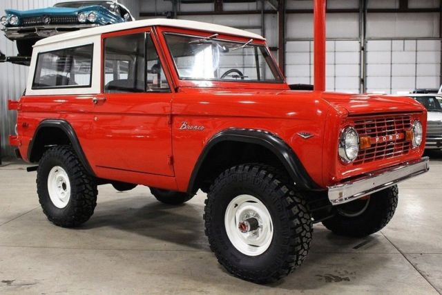 1976 ford bronco 18872 miles red suv 302 v8 manual classic 1976 rh mfpclassiccars com 1979 Ford Bronco 1976 ford bronco shop manual