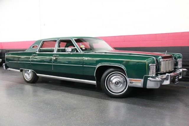 1976 Lincoln Continental Mark Iv Rare Find Classic 1976 Lincoln