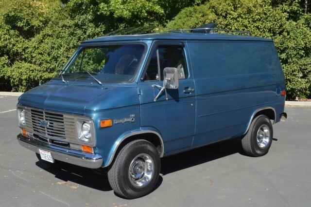 1977 Chevrolet G20 Shorty Chevy Van SWB One Owner Dry