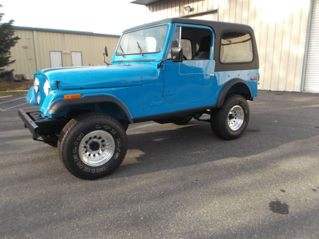 1977 JEEP CJ-7 ~ AUTOMATIC ~ 62K MILES ~ JEEP COLLECTION FOR SALE ...