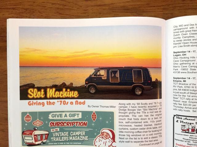 """1978 Dodge Tradesman B200 Van - Custom survivor boogie van - """"Slot"""