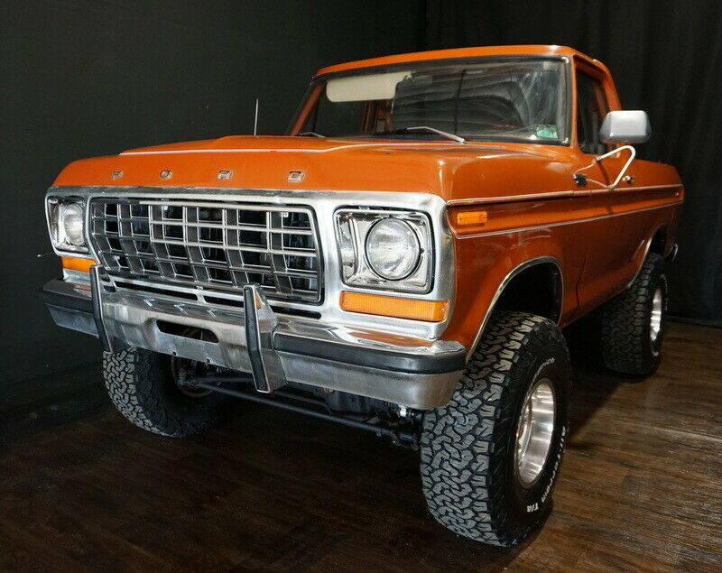 1978 Ford Bronco, 4x4, Special Order 400 V8, 4 speed ...