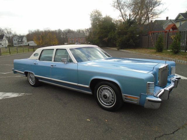 1978 Lincoln Continental Town Car Signature For Sale No Reserve