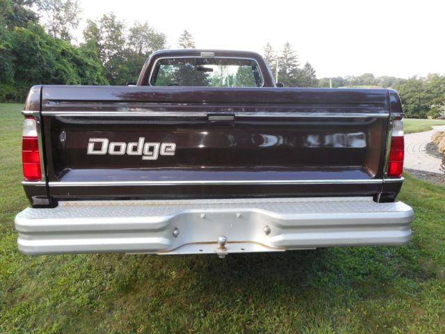 1979 Dodge Adventurer Power Wagon with 10,500 orig mi