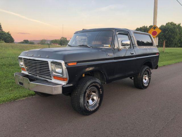 1979 Ford Bronco Custom 351m 79 1978 78 F150 F100 Ranger