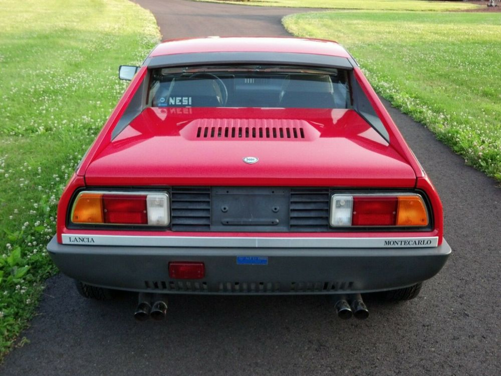 1980 Lancia Montecarlo Not An American Beta Imported From