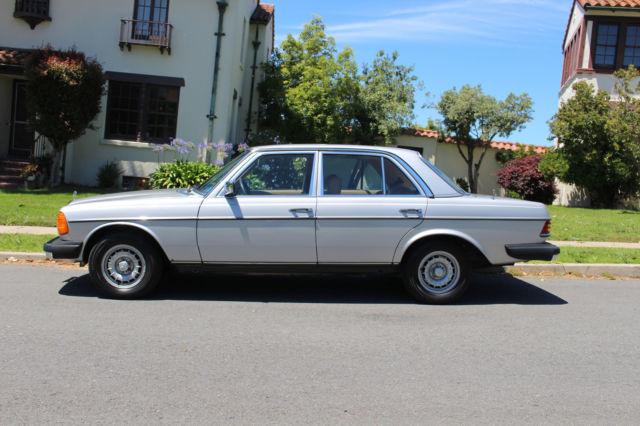 1980 Silver Mercedes-benz 300D W123 Great Condition Tan Interior ...